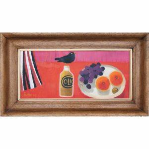 Mary Fedden Blackbird oil