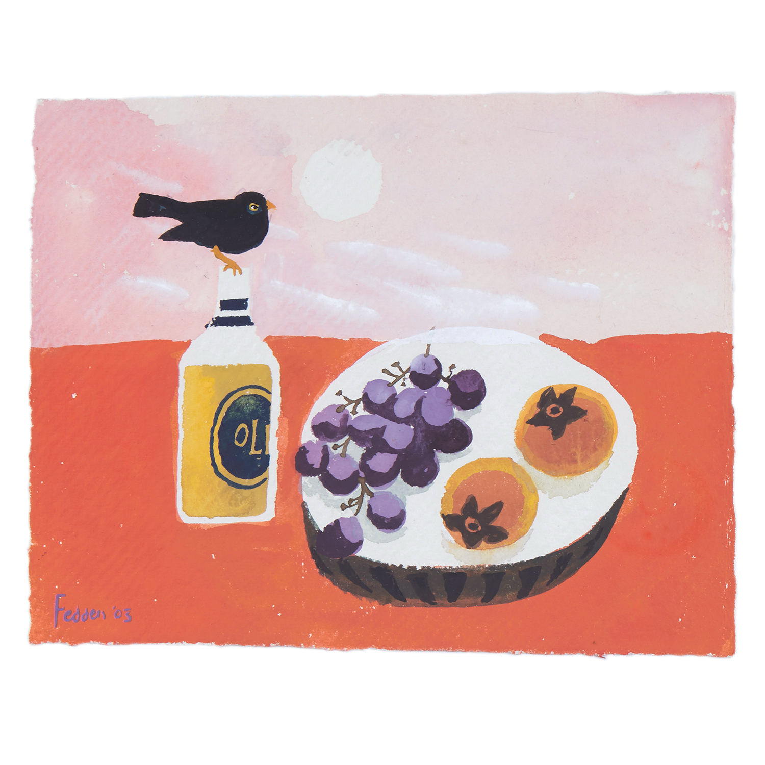 MARY FEDDEN. THE BLACKBIRD. 2003. SOLD