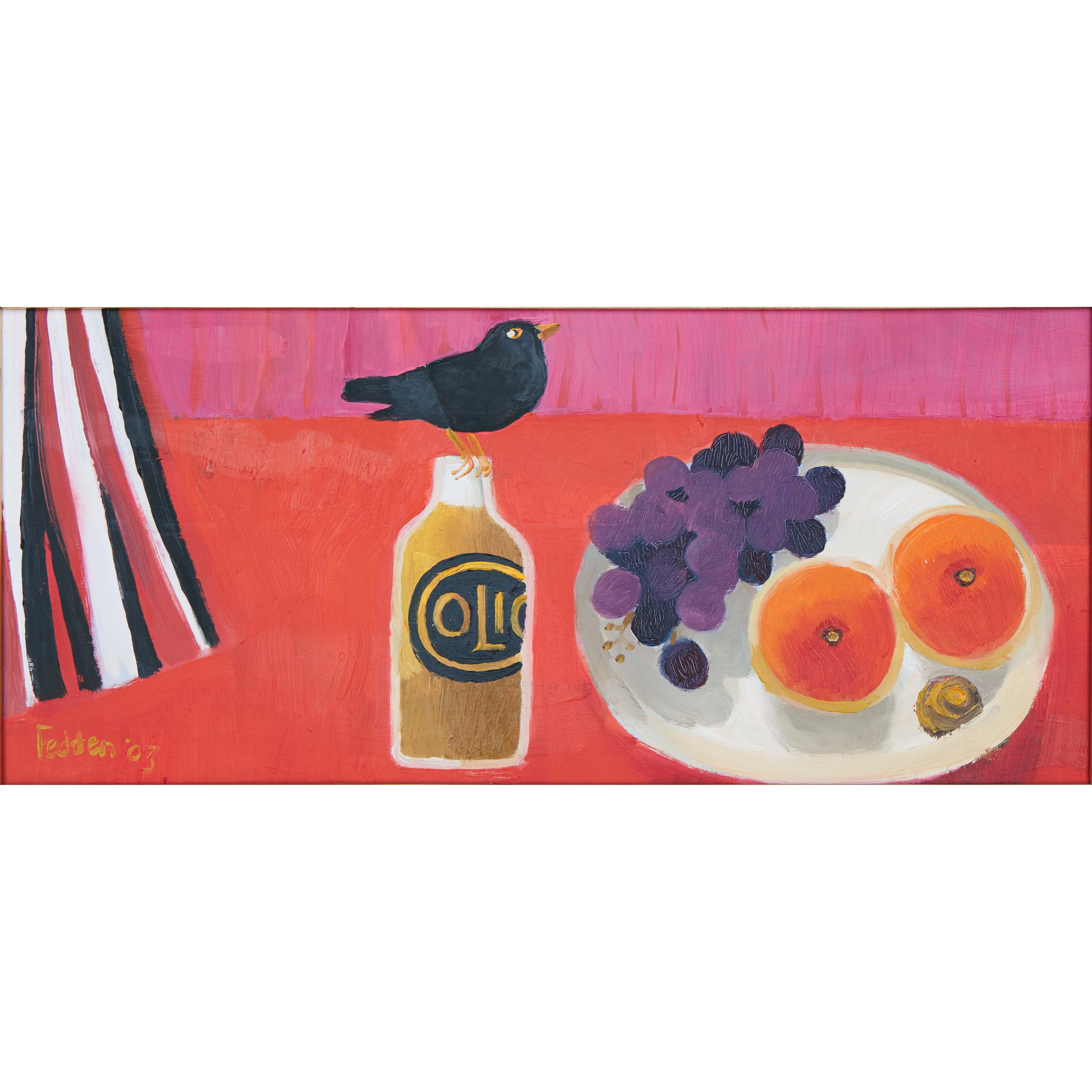 MARY FEDDEN. BLACKBIRD. 2003. SOLD
