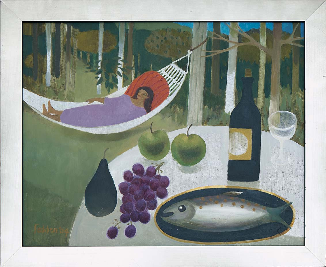 mary-fedden-girl-in-hammock-frame