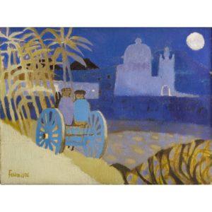 Mary Fedden. Gozo evening.
