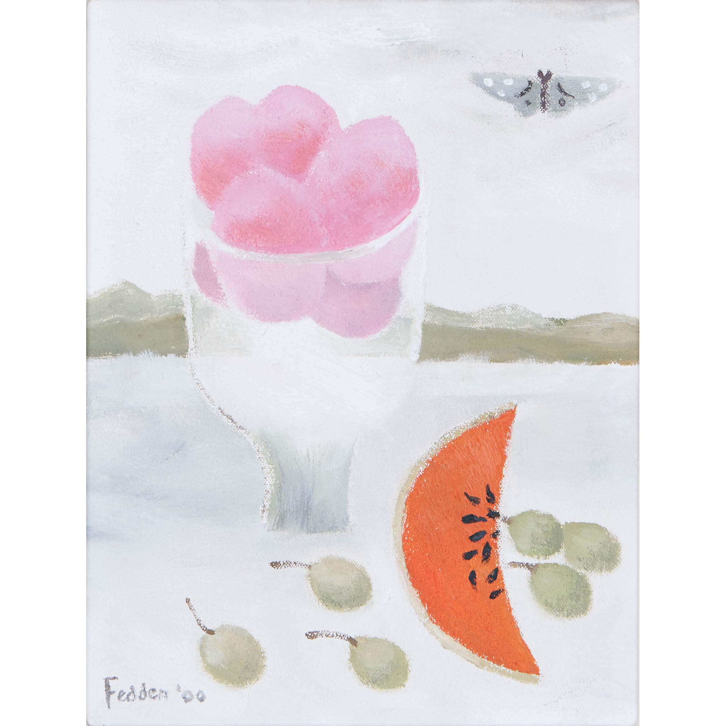 MARY FEDDEN. MELON. 2000