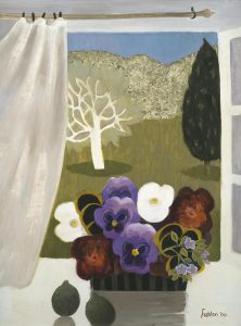 Mary Fedden Pansies in Provence