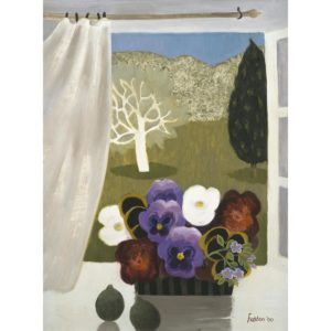 Mary Fedden. Pansies in Provence.