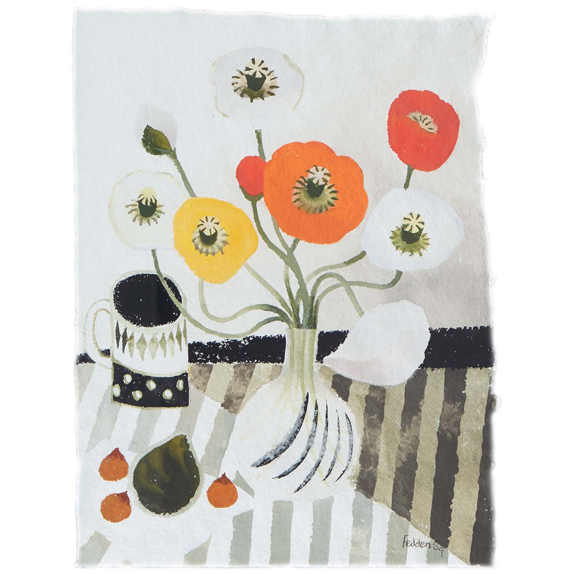 MARY FEDDEN. POPPIES. 2004
