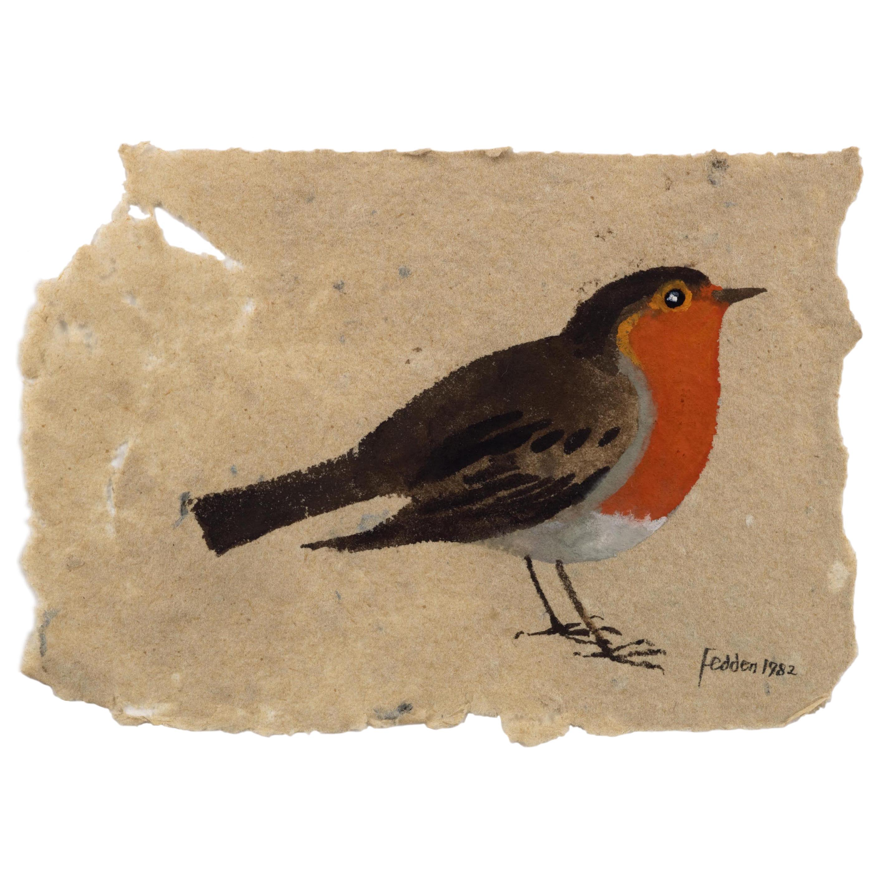 MARY FEDDEN. ROBIN. 1982. SOLD