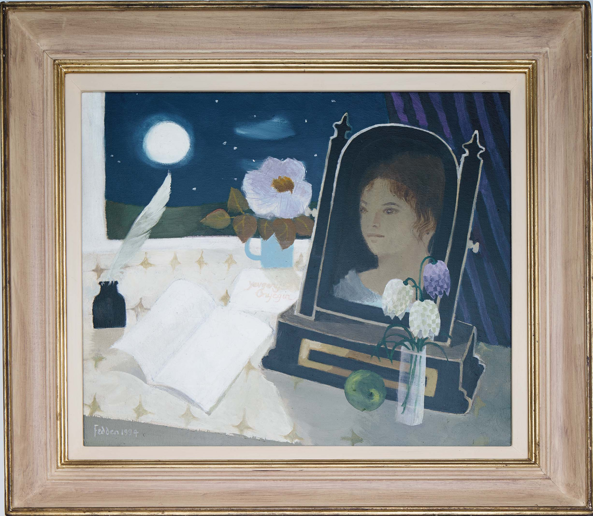 mary-fedden-the-letter-onegin-frame