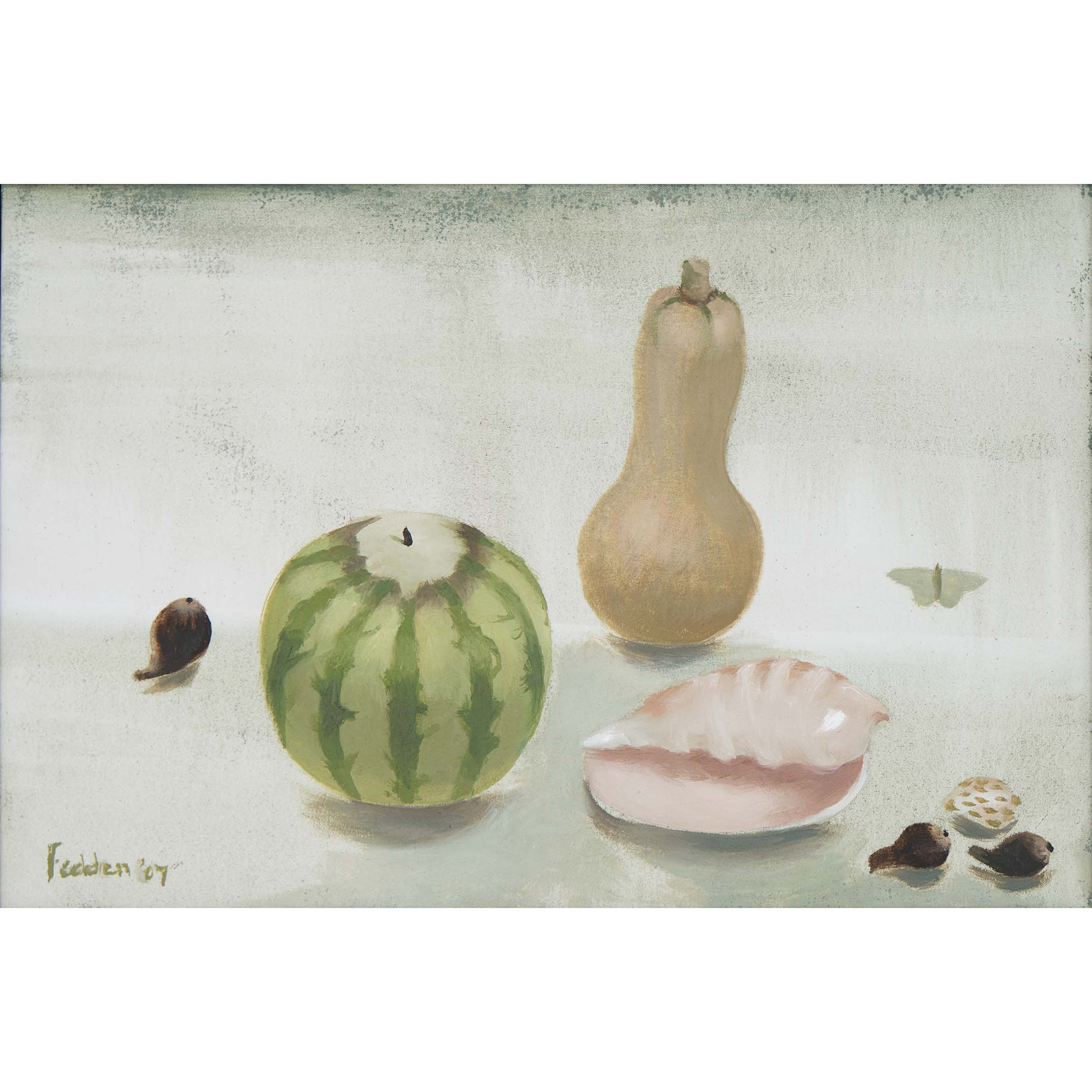 MARY FEDDEN. THE PINK SHELL. 2007. SOLD