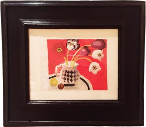 mary-fedden-tulips-on-red-frame