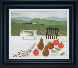 MARY FEDDEN. TUSCAN LANDSCAPE.