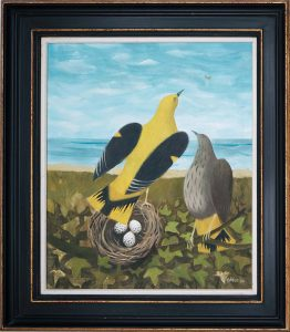MARY FEDDEN. GOLDEN ORIOLES.