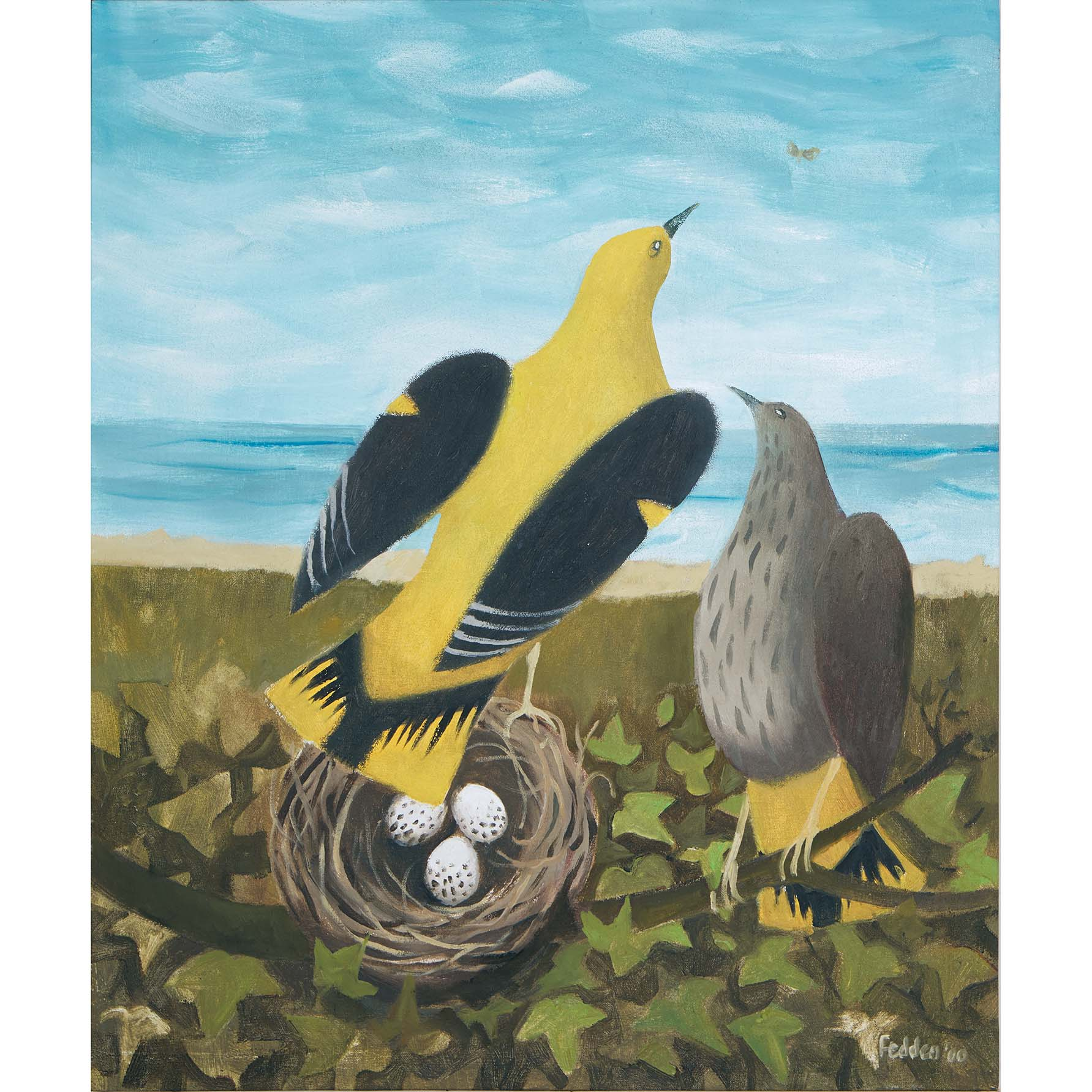 MARY FEDDEN. GOLDEN ORIOLES. 2000