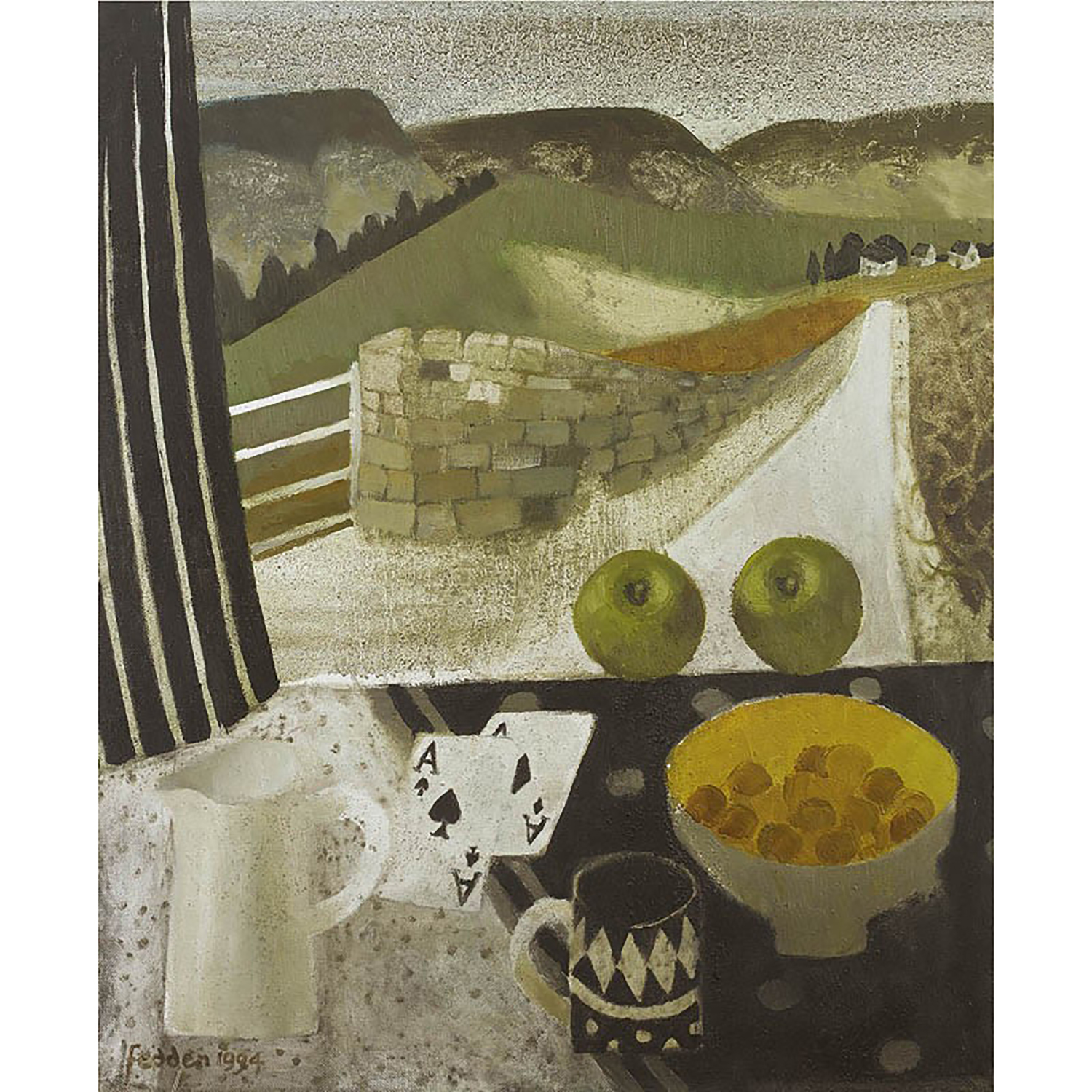 MARY FEDDEN. FARNDALE WINDOW. 1994